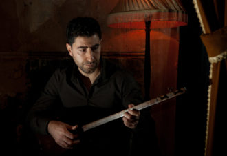 Arash Moradi talks about the music & instruments he uses in The Shahnameh